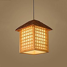 NZDY Bamboo Ceiling Pendant Lighting Natural