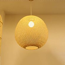 NZDY Bamboo Weaving Rural Pendant Lighting Hand