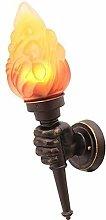 NZDY Bracket Light Retro Industrial Torch Arm Lamp