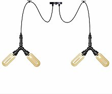NZDY Creative Water Pipe Pendant Lamp Industrial