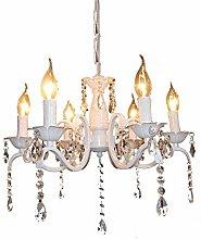 NZDY Crystal Raindrop Candle Chandeliers Lighting
