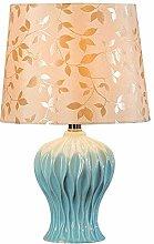 NZDY Desk Lamp Decorative American Minimalist Blue
