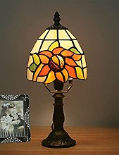 NZDY Desk Lamp European Creative Retro Glass