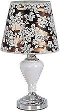NZDY Desk Lamp Fashion Ceramic Lamp Bedroom
