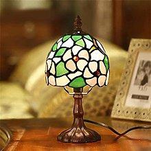 NZDY Desk Lamp Retro European Pastoral Bedroom