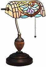 NZDY E27 Style Banker Table Lamp, Vintage Creative