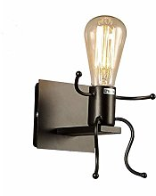 NZDY Industrial Wall Sconce Lighting,Iron Light