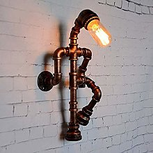 NZDY Industrial Water Pipe Wall Sconce Steampunk