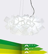 NZDY Modern Dining Room Chandelier, 48Cm Black and