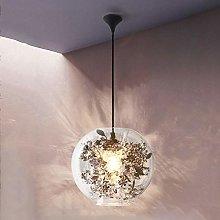 NZDY Modern Glass Pendant Lamp Shade Round Ball