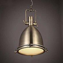 NZDY Painted Iron Pendant Lighting Vintage Lamp