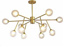 NZDY Sputnik Chandelier 9 Lights Modern Pendant