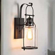 NZDY with Clear Glass Waterproof Wall Lamp