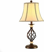NZDY with Farbic Shade Bedside Lamps, Living Room