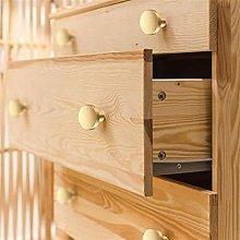 NZQK Round Brass Dresser Knobs Cabinet Door Knob
