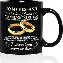 o My Husband Mug - I Wish I Could Turn Back The