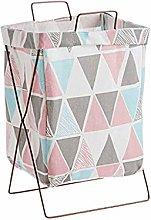 O&YQ Household Storage Bag/Baskets, Iron Frame