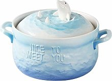 O&YQ Household Storage Bowls Ceramic Noodle Soup