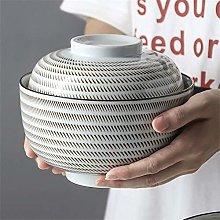 O&YQ Household Storage Bowls Ceramic Soup Bowl