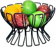O&YQ Household Storage Bowls Creative Iron Fruit