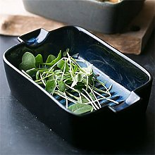 O&YQ Household Storage Bowls Double-Eared Baking