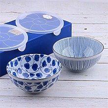 O&YQ Household Storage Bowls Fresh Bowl with Lid,