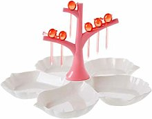 O&YQ Household Storage Bowls Fruit Rack, Plastic