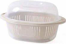 O&YQ Household Storage Bowls Plastic Fruit Basket