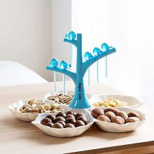O&YQ Household Storage Bowls Plastic Fruit Bowl,