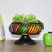 O&YQ Household Storage Bowls Wire Fruit