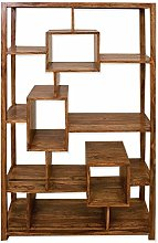 Oak and Pine Online Solid Indian Bookcase Display