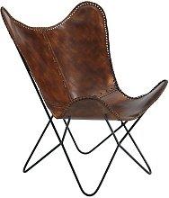 Oakcrest Butterfly Chair Borough Wharf Upholstery