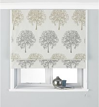 Oakdale Tree Design Blackout Roman Blind