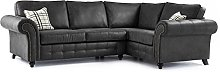 Oakridge 4 Seater Large Leather Corner Sofa -