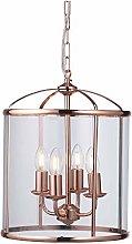 Oaks Lighting Fern, Copper