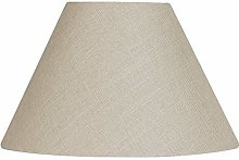 Oaks Lighting L501/5 CA Linen Coolie Shade, Calico