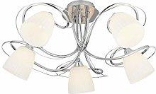 Oaks Lighting Leke, Chrome