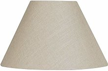Oaks Lighting Linen Coolie Shade, Calico