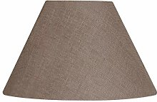Oaks Lighting Linen Coolie Shade, Mocha