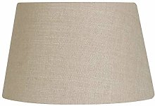Oaks Lighting Linen Drume Shade, Bracken