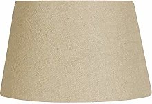 Oaks Lighting Linen Drume Shade, Buttermilk