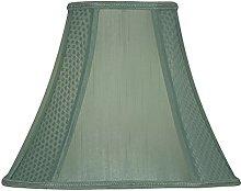 OAKS LIGHTING Soft Lined Octagonal, Silk, Green