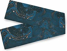 Oarencol Modern Contemporary Painting Table Runner