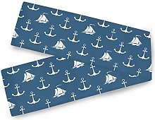 Oarencol Sailing Vessel Anchor Boat Blue Table