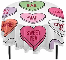 Oarencol Valentines Colorful Heart Candy