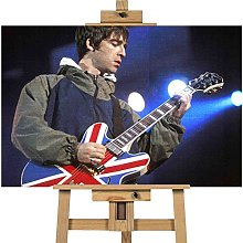 Oasis Noel Gallagher Playing Live 40x30 inches |