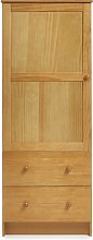 Obaby Single Wardrobe - Country Pine.