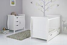 Obaby Stamford Classic Sleigh 2 Piece Nursery Set