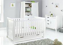 Obaby Stamford Classic Sleigh 3 Piece Nursery Set