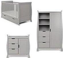Obaby Stamford Classic Sleigh 3-Piece Room Set -
